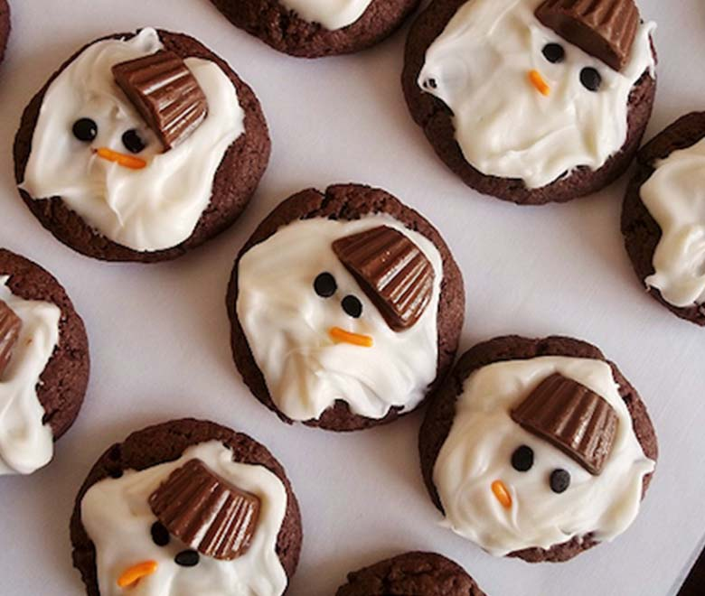 Cookie Bake Off Add Melted Snowman Cookies To Your Family S List