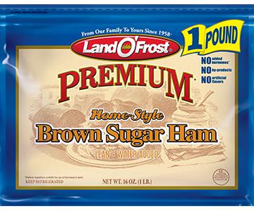Brown Sugar Ham - pr 1lb