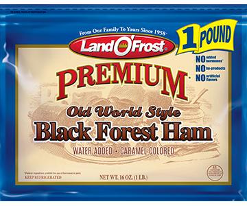 Black Forest Ham - pr 1lb