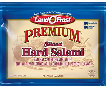 Sliced Hard Salami - pr 1lb