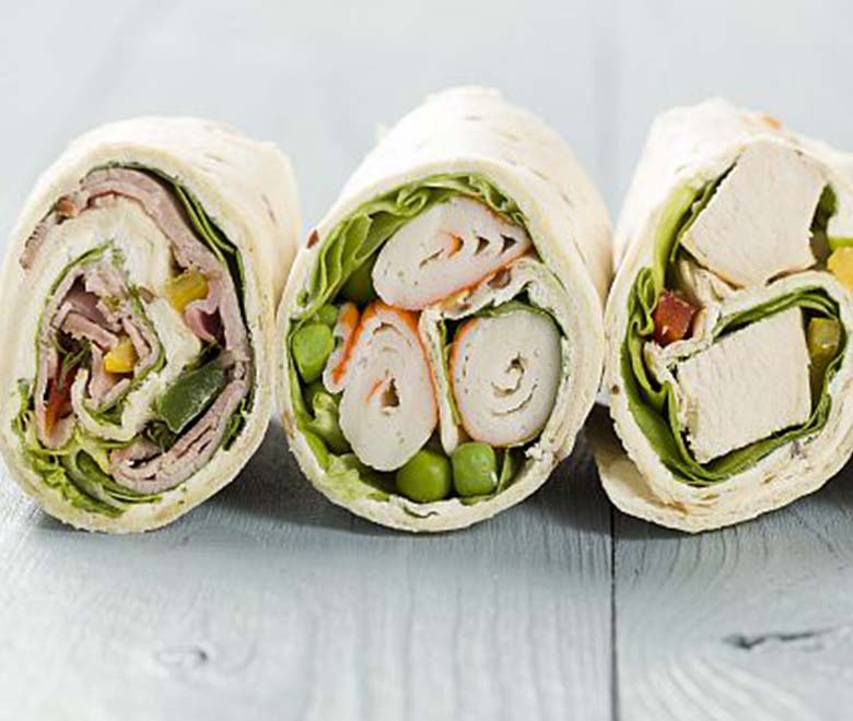 How To Make Sandwich Wraps That Don T Fall Apart Land O Frost