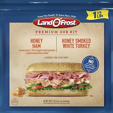 Premium - Honey Ham & Turkey