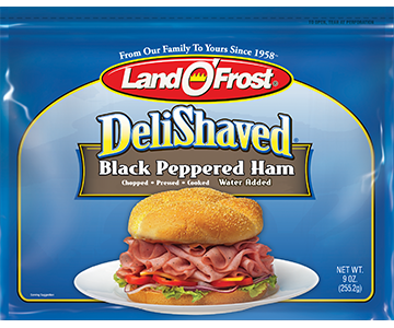 Black Peppered Ham - ds 9oz