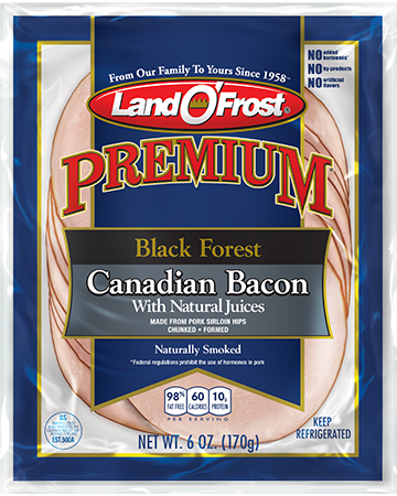Premium - Black Forest Canadian Bacon